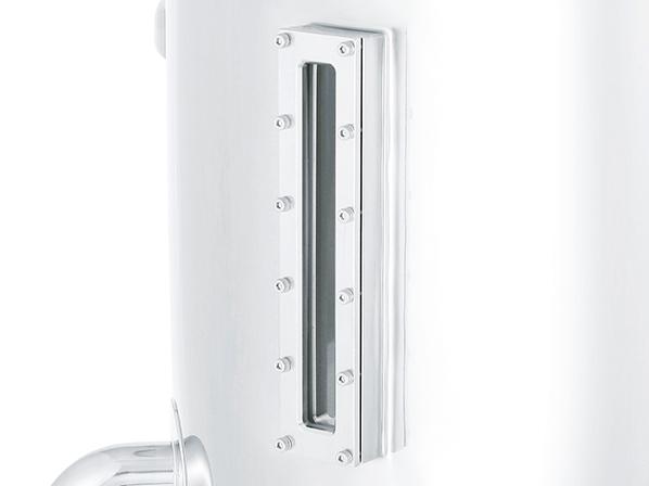 [KNM] corner flange viewing window (square window)